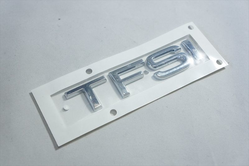 画像1: Audi 純正  TFSI リア エンブレム (L) (1)