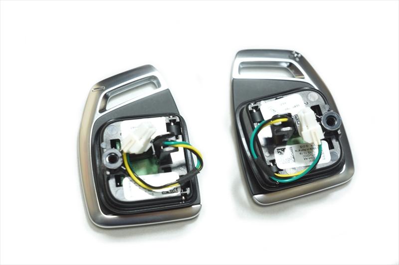 画像1: Audi 純正 RSモデル(RS6/RS7)用 ステアリング パドルシフト スイッチ (3) (1)