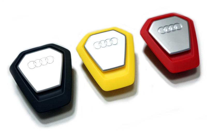 画像1: Audi 純正 アウディ シングルフレーム フレグランス ディスペンサー (1)