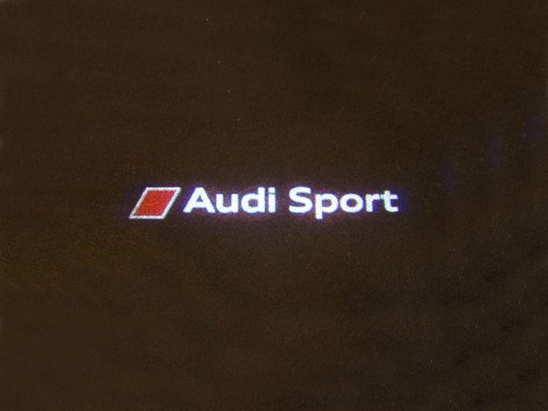 画像1: アウディ 純正 Audi Sport LED ドアエントリーライト(カーテシランプ)セット (1)